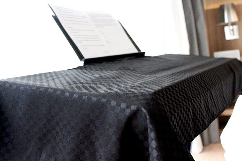 Clairevoireユニバーサルキーボード&デジタルピアノダストカバー