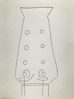 弦の折り曲げ方/ナポリ型