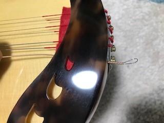 袖板と弦の輪っか